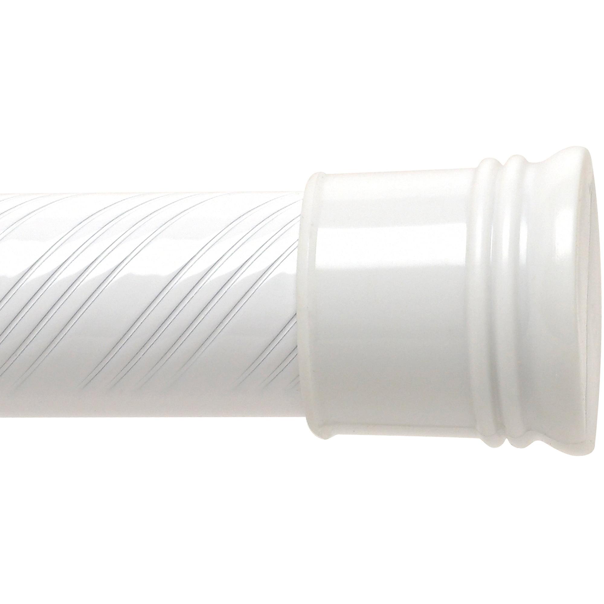 elegant home fashions adjustable curved shower rod satin nickel walmartcom
