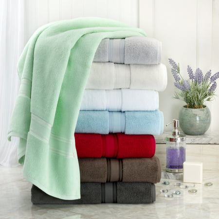 Addy Home Zero Twist 4 Piece Bath Towel Set - Navy Retreat Bath Sheet