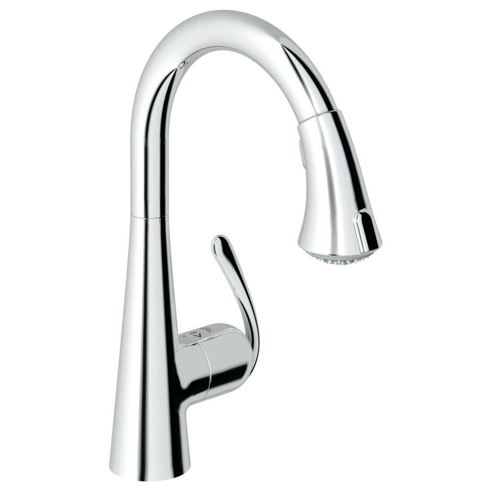 Grohe 32298000 Ladylux 3 Cafe Main Sink Single-Handle Pul...