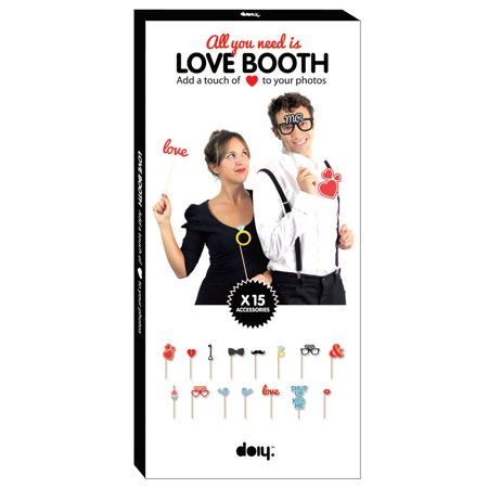 All You Need Is Love Booth Photo Cut Out Accessories - Photo Cut Outs