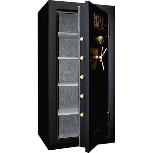 Mesa Safe MBF7236C-P Fire Resistant X-Large Security Safe with Mechanical Dial Lock, Black