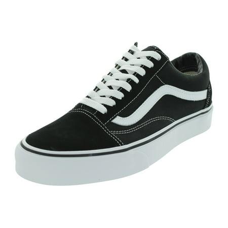Vans Unisex Old Skool Black/White Skate Shoe (10.5 D(M) adult)