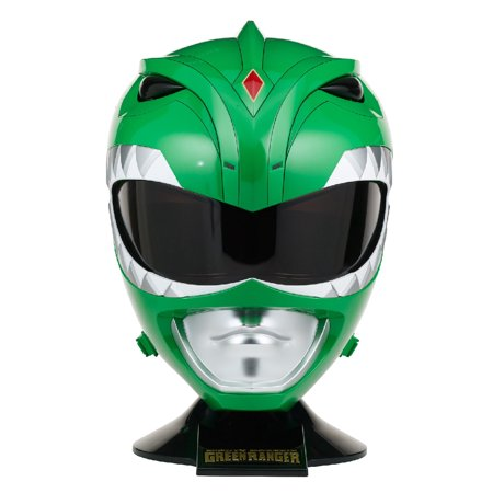 Bandai - Legacy Mighty Morphin Power Rangers Helmet, Green - Power Ranger Helmets For Sale