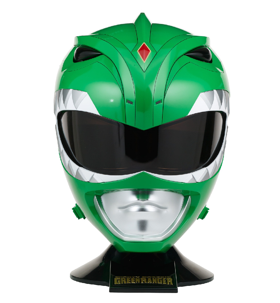 Bandai - Legacy Mighty Morphin Power Rangers Helmet, Green Ranger