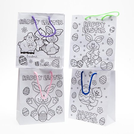 Color Your Own Easter Bags