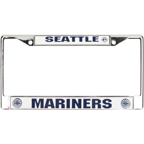 MLB - Seattle Mariners Chrome License Plate Frame