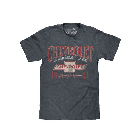 Tee Luv Chevrolet 1911 T-Shirt - An American Classic Chevy Graphic Tee Classic Screen Print Jersey