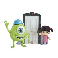 Good Smile Monsters, Inc. Mike & Boo Deluxe (DX) Version Nendoroid Action Figure Set
