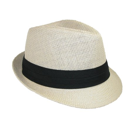 f8bea3ac5ed Jeanne Simmons Kids  Straw Pleated Band Easter Fedora Hat - image 2 ...