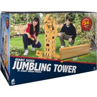 Cardinal Giant Jumbling Tower Game
