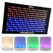 Chauvet DJ ColorPalette LED Panel DMX Stage Wash Light, Color Palette + Speaker