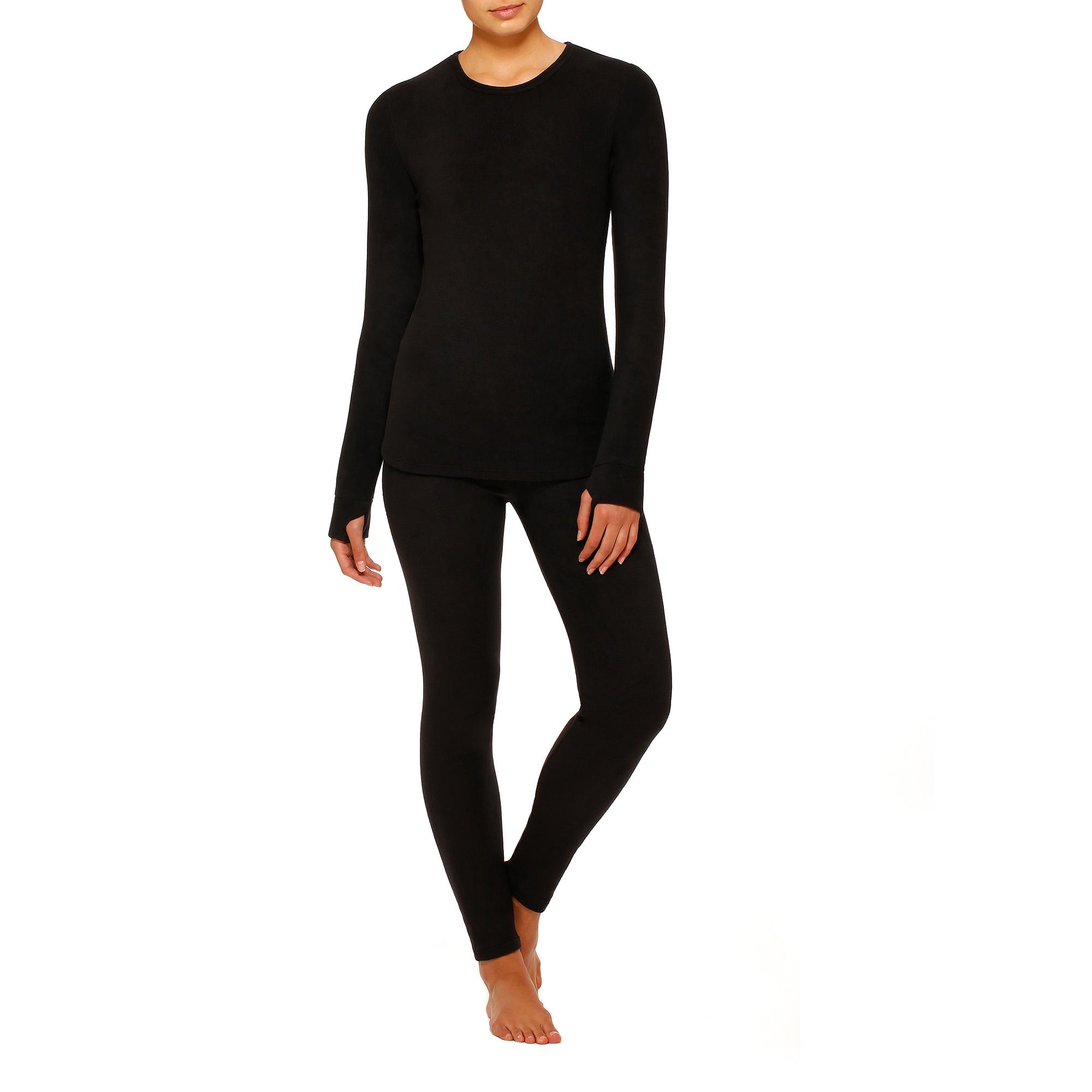 Women's Stretch Fleece Warm Underwear Leggings
