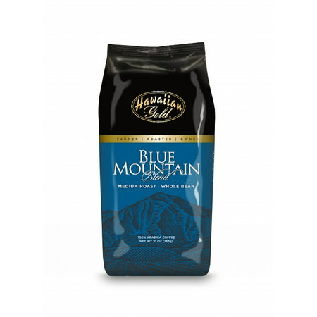 - Blue Mountain Gold Gourmet Blend Whole Bean Coffee, 10 oz