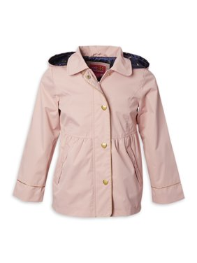 Pink Platinum Baby & Toddler Girls Lightweight Water Repellent Anorak Jacket (Sizes 12M-4T)