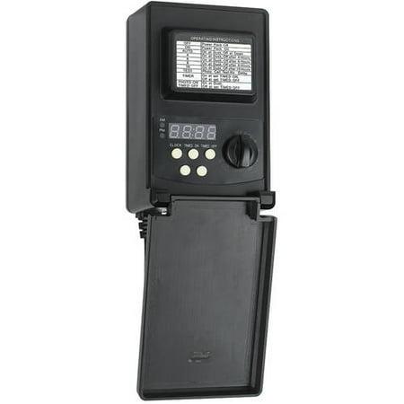 Maximus Low-Voltage 45-Watt Black Digital