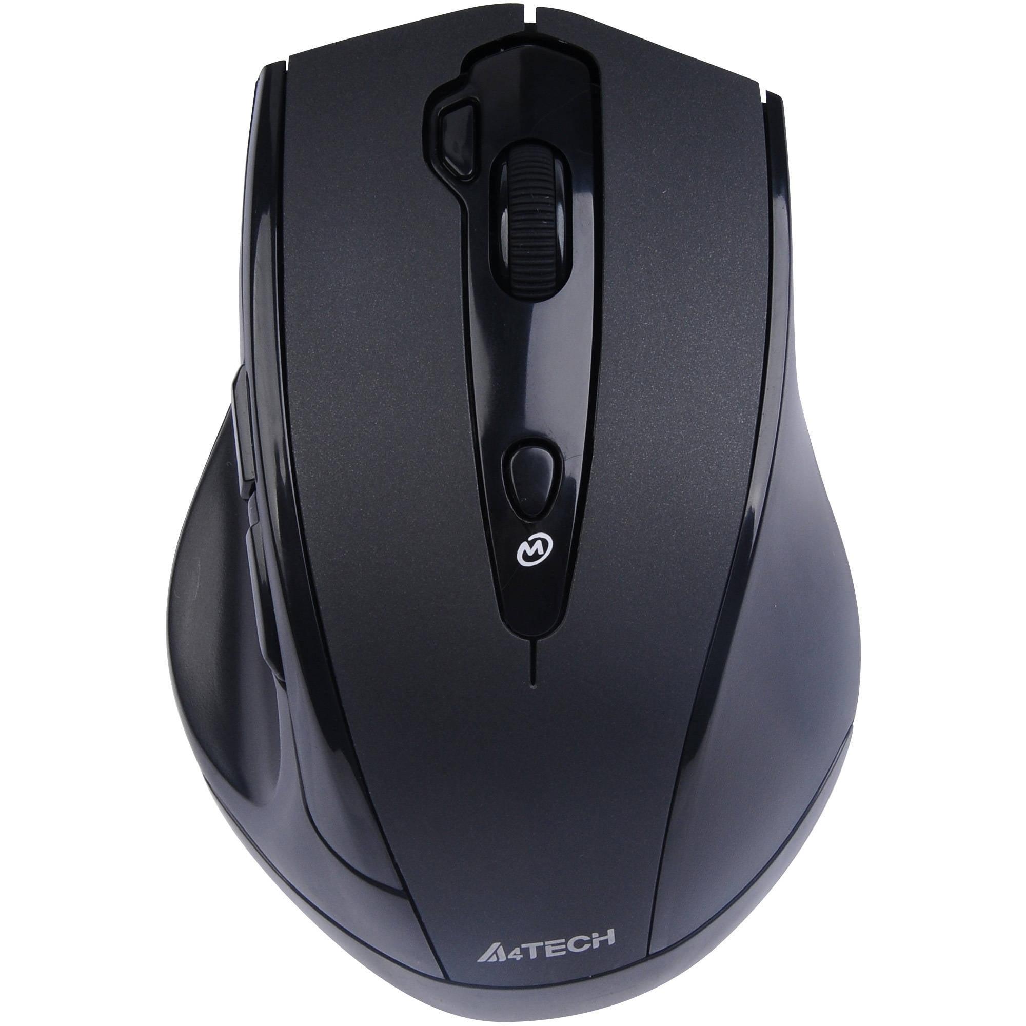 Image of A4tech G10 G10-810F V-Track Wireless Mouse, Black
