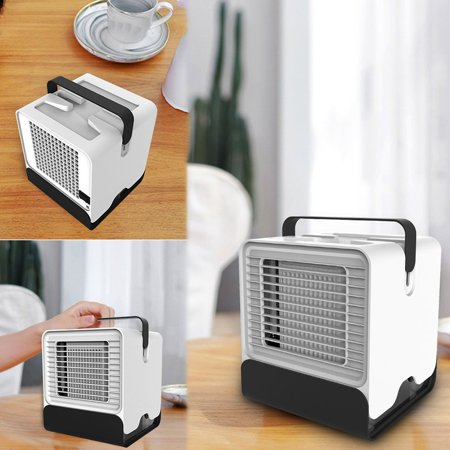 Air Cooler Anion Air Conditioning Fan Dormitory Office Ub Small Cold Fan - image 1 de 5