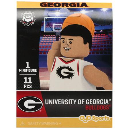 Georgia Bulldogs OYO Sports Campus Collection Basketball Minifigure - No Size