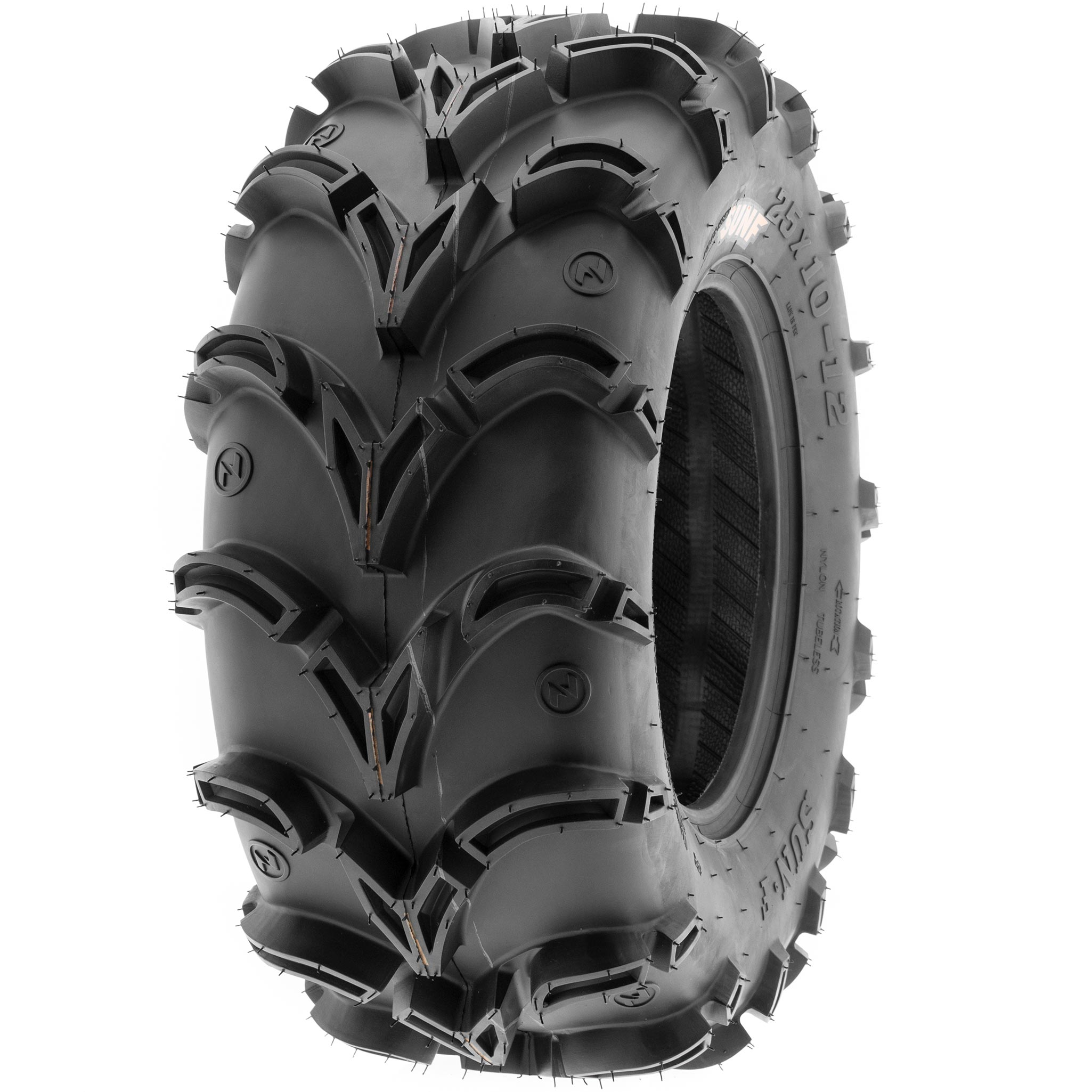 SunF 27x11-14 ATV UTV Tire 27x11x14  All Terrain Replacement 6 Ply A050 Tubeless