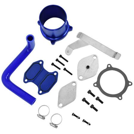 WALFRONT EGR Cooler Kit & Throttle Valve Delete Kit for Dodge Ram 6.7L Diesel 05/07-09 EDK1621, EGR Valve Cooler Delete Kit, EGR Cooler Kit
