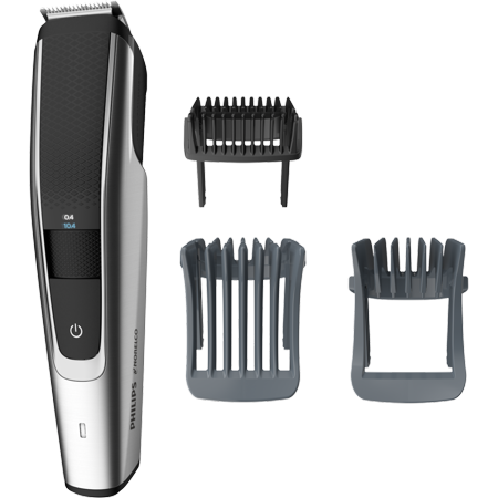 Philips Norelco Beard Trimmer Series 5000, BT5511/49, electric, cordless, one pass beard and stubble trimmer with washable feature for easy