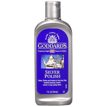 Silver Polish Liquid, 7-oz Tarnish Remover Goddard's - 1 (Best Silver Tarnish Remover)