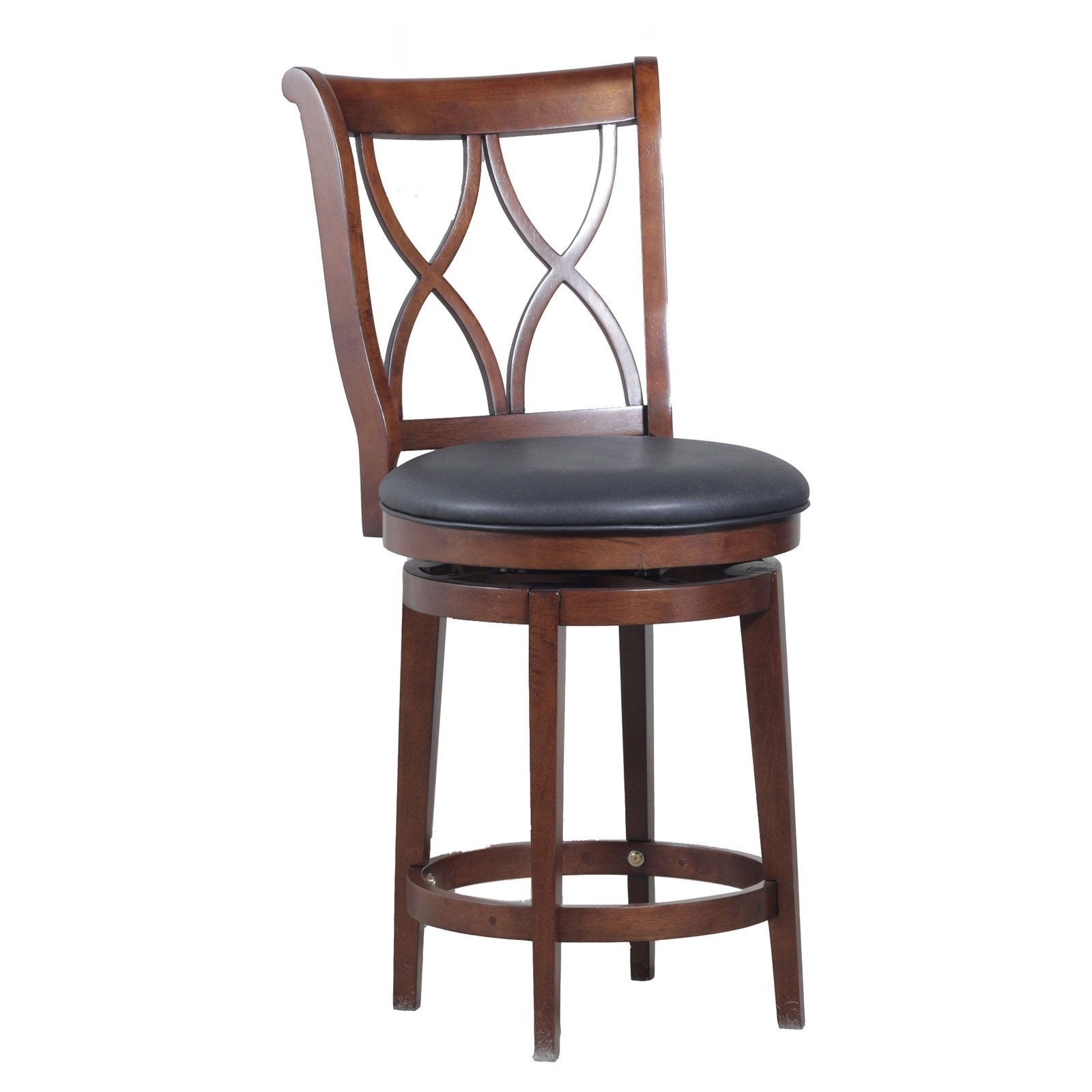 Powell Big & Tall Carmen Counter Stool, Rustic Oak by Powell Furniture