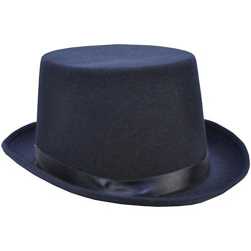 Deluxe Felt Top Hat Adult Halloween Accessory