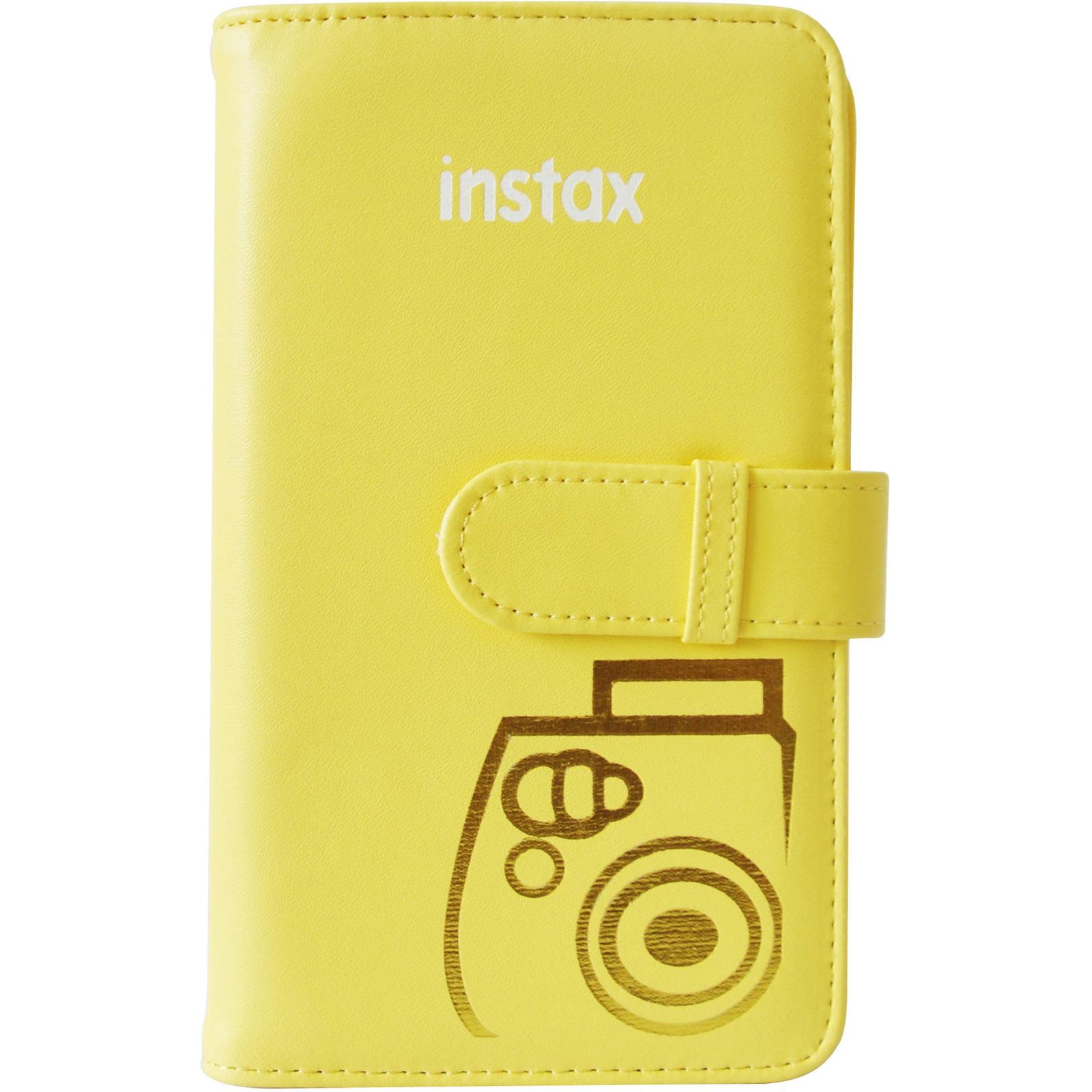 Instax Wallet Album 108 - Yellow