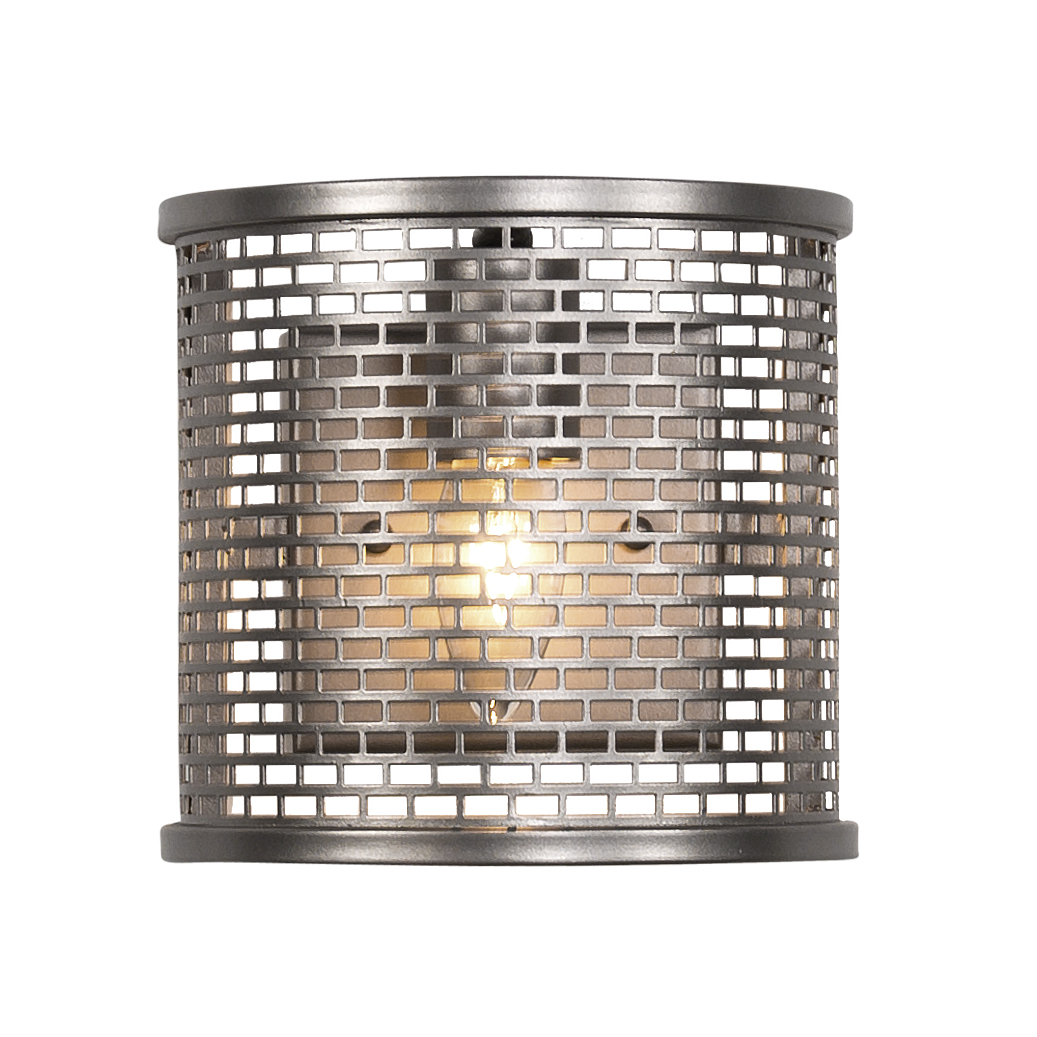 Varaluz - Lit-Mesh Test - 1 Light Sconce - New Bronze Finish