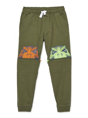 365 Kids from Garanimals Boys 4-10 Dino Zip-off Jogger Sweatpants