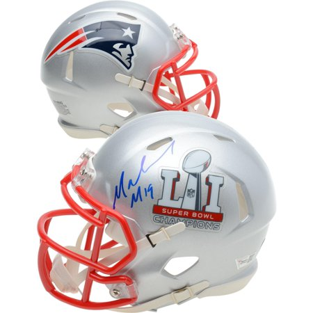 Malcolm Mitchell New England Patriots Autographed Riddell Super Bowl 51 Champions Mini Helmet - Fanatics Authentic Certified Mitchell Autographed Football