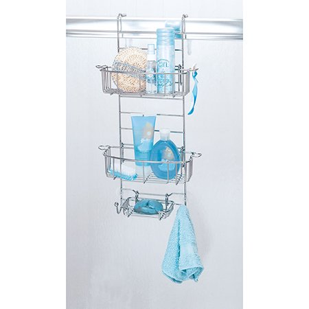 Hanging Bathroom Shower Caddy, Chrome - Walmart.com