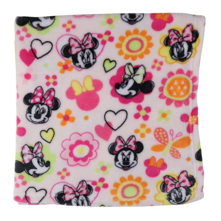 Disney Minnie Mouse Super Soft Fleece Blanket 074ca5355