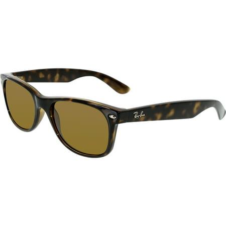 dcb0eccaae1 Ray-Ban - Ray-Ban Women s Polarized Wayfarer RB2132-902 57-55 Tortoiseshell  Wayfarer Sunglasses - Walmart.com