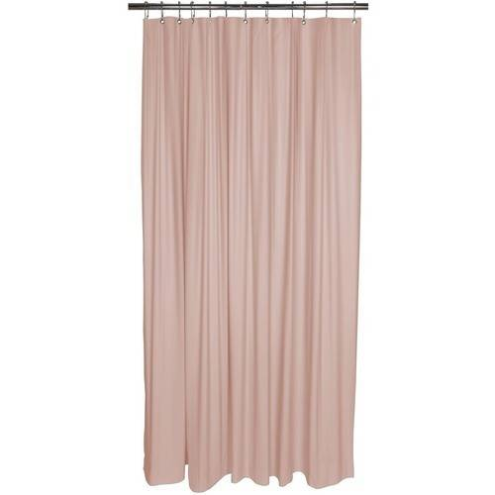 Bath Bliss Premium Shower Curtain Liner Pink