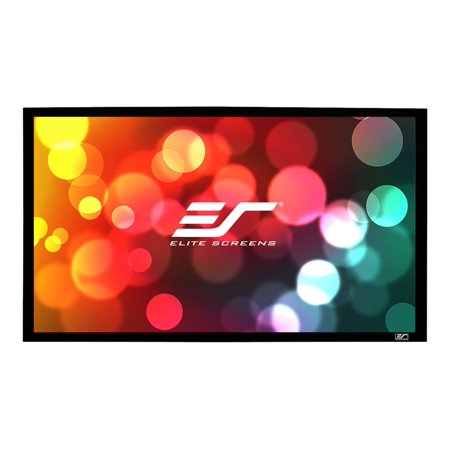 Elite SableFrame ER166WH1W-A1080P2 - Projection screen - 166 in ( 422 cm ) - 2.35:1 - AcousticPro1080P2 -