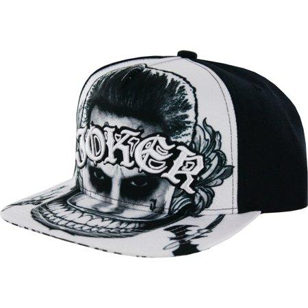 Joker Hat (Suicide Squad The Joker Flat Brim Snapback)