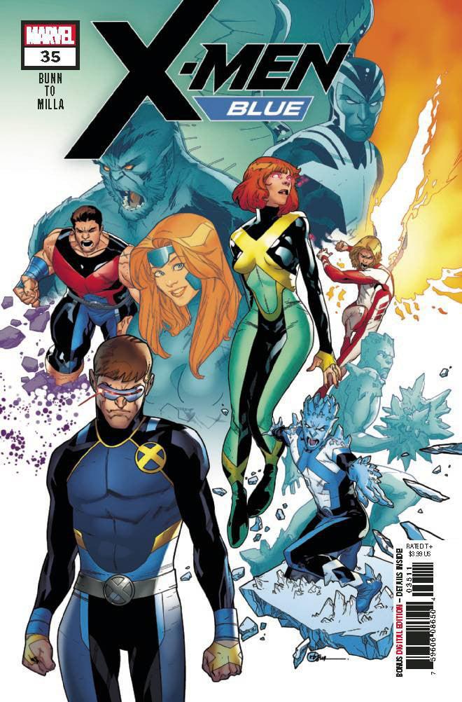 Marvel X-Men Blue #35 by