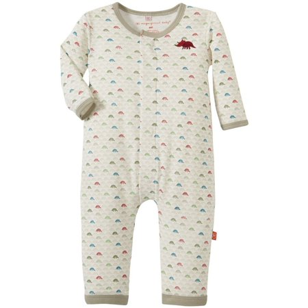 Magnificent Baby Baby-Boys Dino Expedition Long Sleeve Union Suit Dino Bones (Dinosaur Suit For Sale)