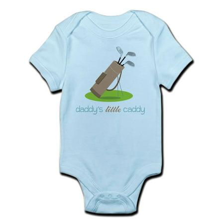 CafePress - Daddy's Little Caddy Body Suit - Baby Light Bodysuit