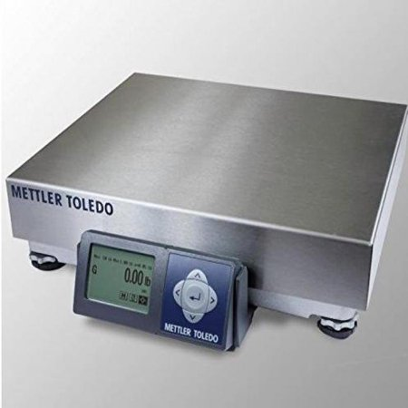 Mettler Toledo Bench Scale Bc 60U Bc Series Shipping Ups Bench Scale Ntep Legal For Trade Rs232  150 Lb X 0 05 Lb New Replacement From Mettler For Ps60