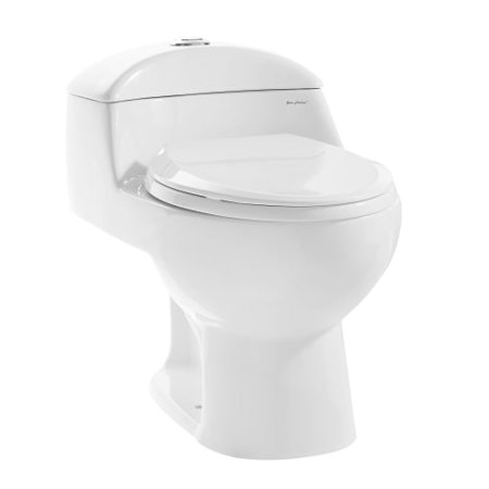 Swiss Madison SM-1T803 Chateau 0.8-1.28 GPF One-Piece Elongated Dual Flush Toile