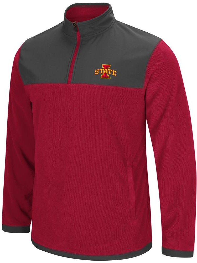 Iowa State Cyclones Men's Full Zip Fleece Jacket by Colosseum