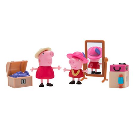 Peppa Pig Little Rooms Attic Granny Pig, Peppa and Grandma Pig](Peppa Pig Products)
