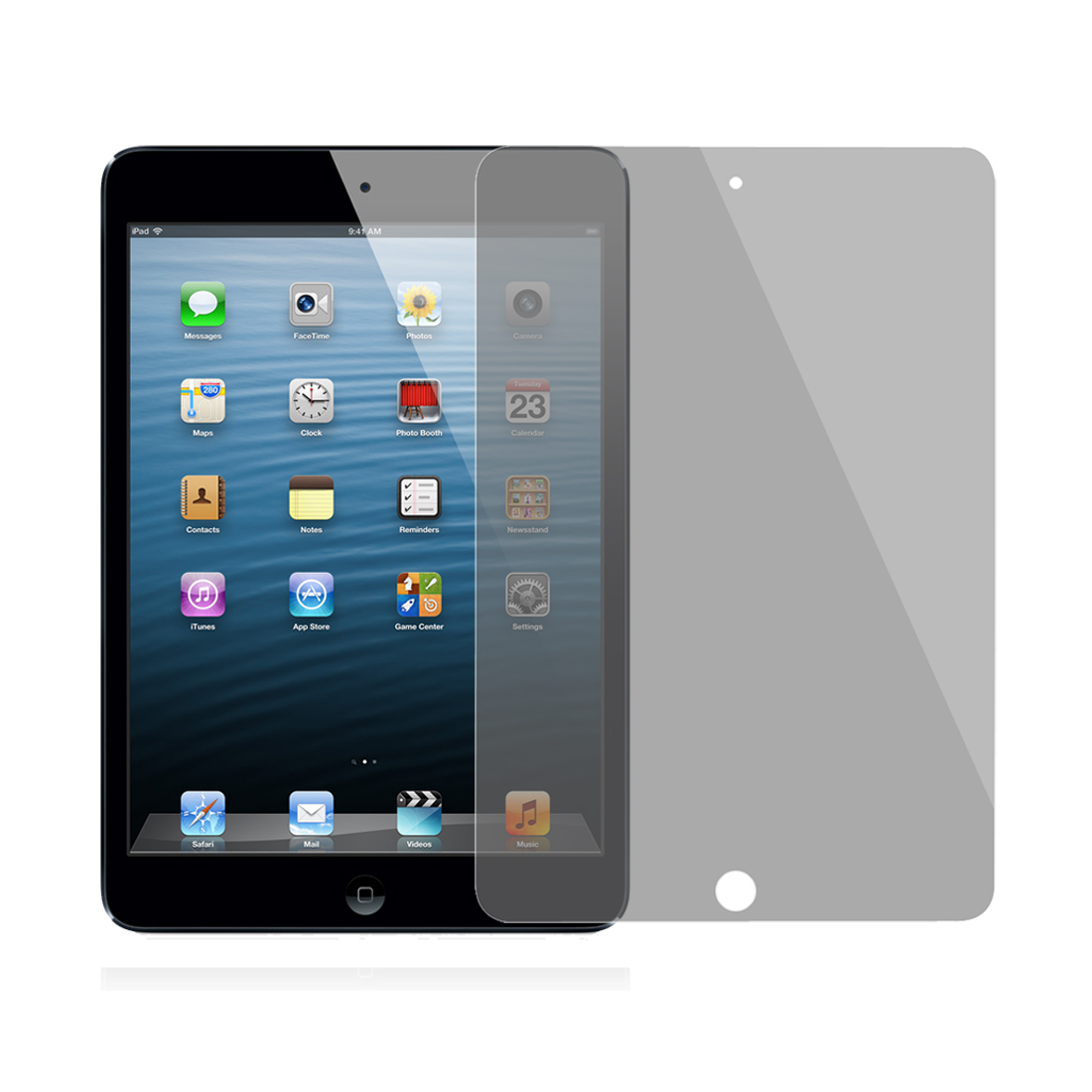 Unique Bargains Anti-Peep LCD Screen Guard Film Front for Apple iPad Mini