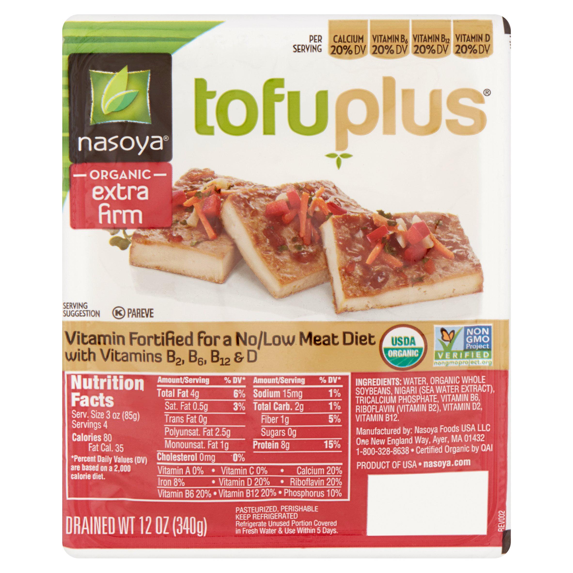 Nasoya Tofuplus Organic Extra Firm Tofu, 12 oz
