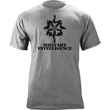 Army Military Intelligence Branch Insignia Veteran T-Shirt Army Shoulder Sleeve Insignia