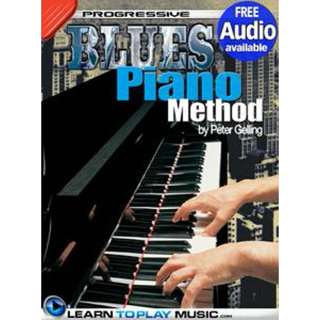Beginner Piano Lesson Books - Blues Piano Lessons for Beginners - eBook