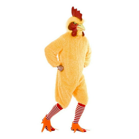 Halloween Rocking Rooster Adult Yellow